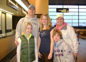 Amerikanische familie kennenlernen